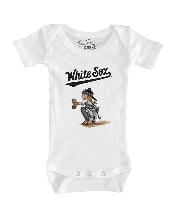 Chicago White Sox Infant Kate the Catcher Short Sleeve Snapper