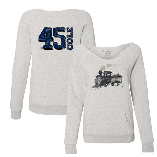 "New York Yankees Gerrit Cole ""Cole Train"" Women's Slouchy Sweatshirt"