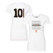 San Francisco Giants Evan Longoria Stacked Tee Shirt