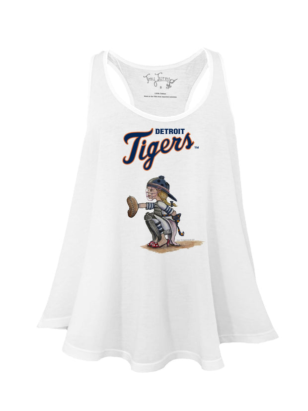 Detroit Tigers Women's Kate the Catcher Aubri Tank