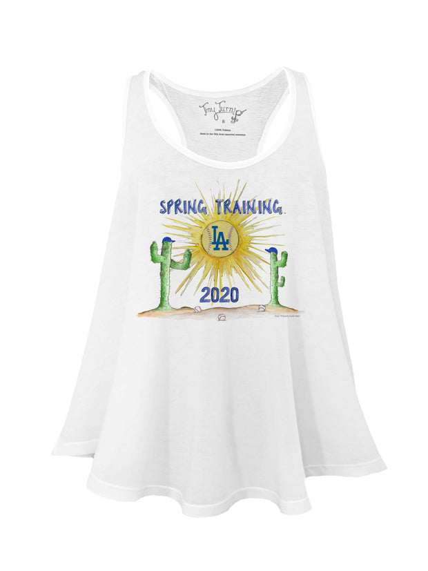 Los Angeles Dodgers Women's 2020 Spring Training Aubri Tank