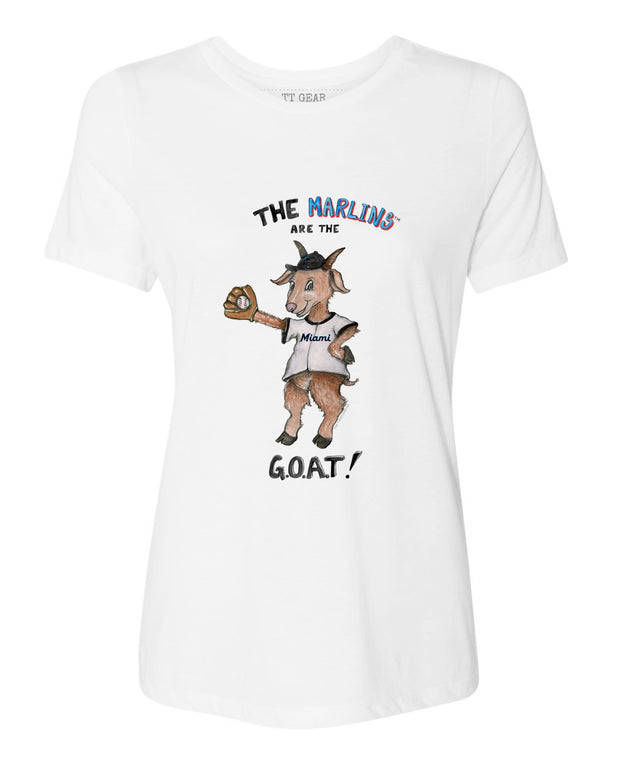 Miami Marlins Women's G.O.A.T! Tee