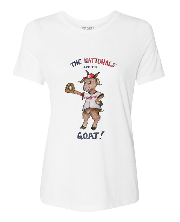 Washington Nationals Women's G.O.A.T!  Tee