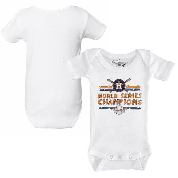 Houston Astros 2017 World Series Champions Stars and Stripes Short Sleeve Snapper