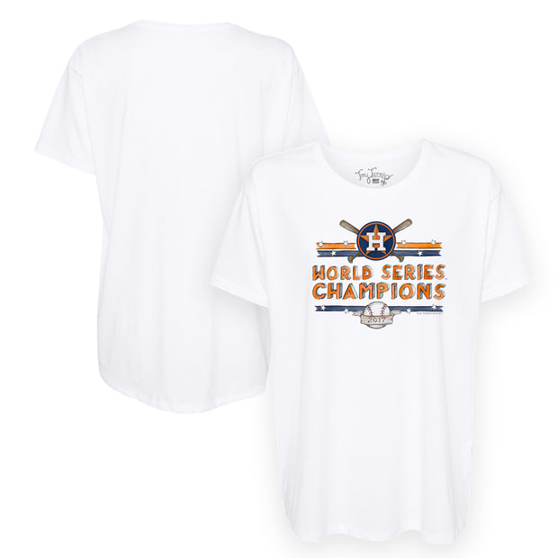 Houston Astros 2017 World Series Champions Stars and Stripes Tee Shirt