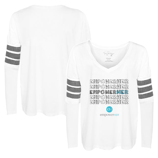 "Tiny Turnip ""EMPOWER HER"" Long Sleeve Jalynne Jersey"