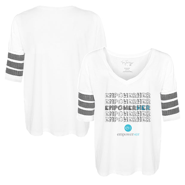 "Tiny Turnip ""EMPOWER HER"" Short Sleeve Jalynne Jersey"