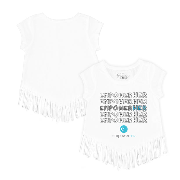 "Tiny Turnip ""EMPOWER HER"" Fringe Tee"