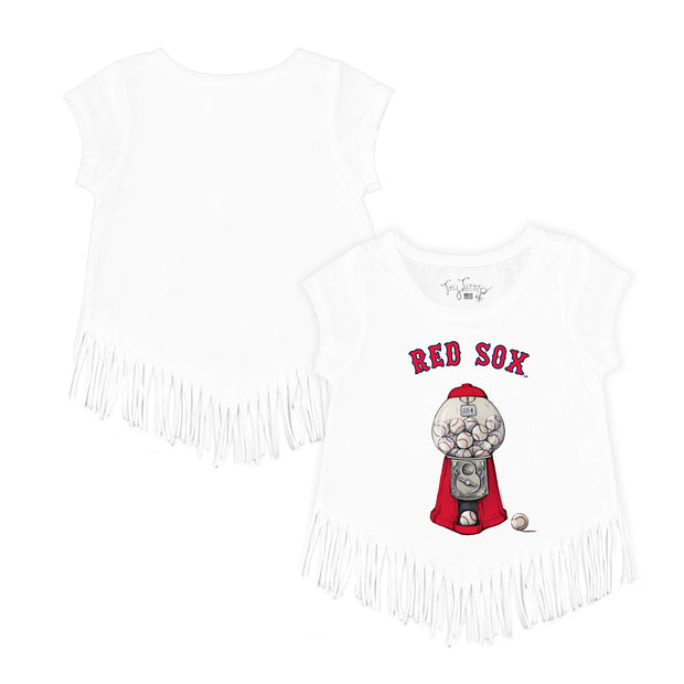 Boston Red Sox Gumball Fringe Tee