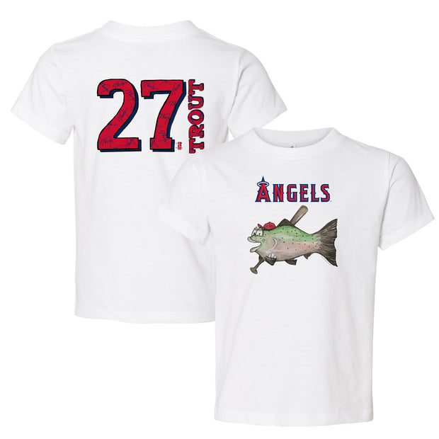 Los Angeles Angels Mike Trout Fish Tee Shirt
