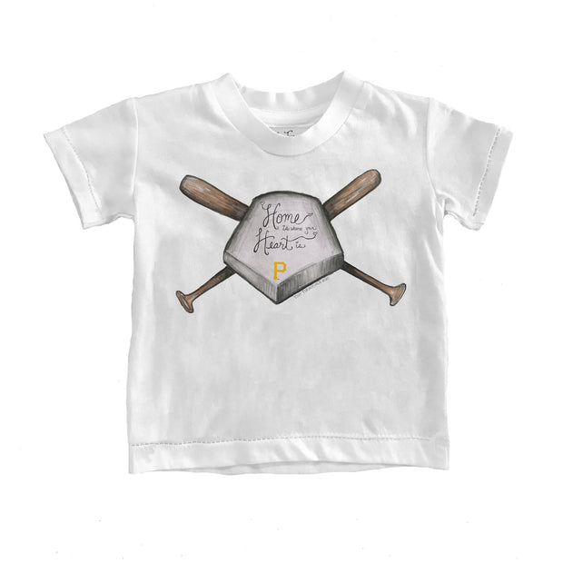 Pittsburgh Pirates Kids Home Is Where Your Heart Is Tee