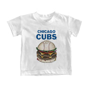 Chicago Cubs Burger Tee Shirt
