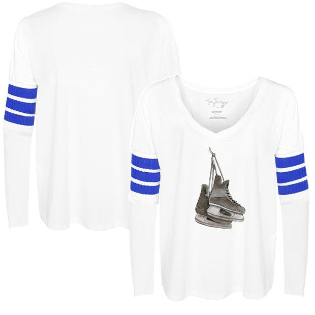Tiny Turnip Hockey Hanging Skates Long Sleeve Jalynne Jersey
