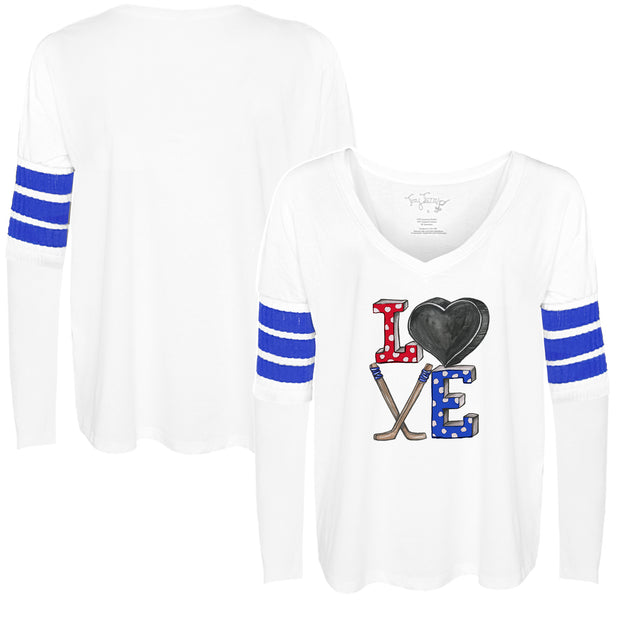 Tiny Turnip Hockey Love Long Sleeve Jalynne Jersey