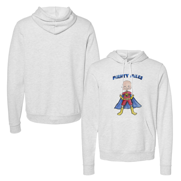 "Tiny Turnip ""Catch a Cure"" Mighty Miles Unisex Pullover Hoodie"