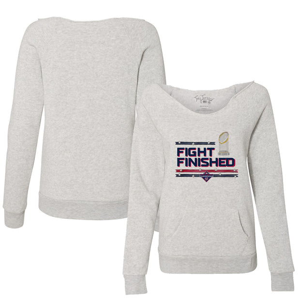 Washington Nationals 2019 World Series Champions Fight Finished Slouchy Sweatshirt