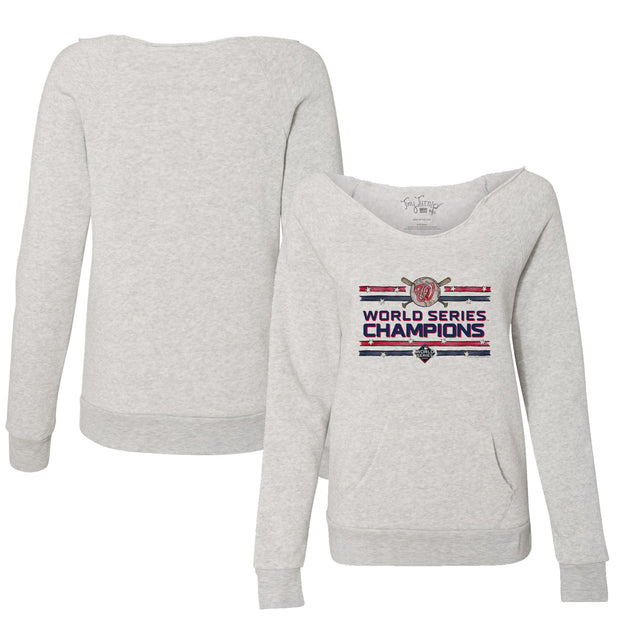 Washington Nationals 2019 World Series Champions Stars and Stripes Slouchy Sweatshirt