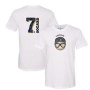 Milwaukee Brewers Eric Sogard #NerdPower Tee Shirt