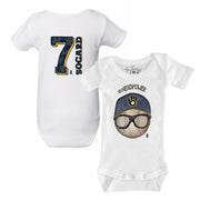 Milwaukee Brewers Eric Sogard #NerdPower Short Sleeve Snapper