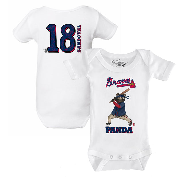 "Atlanta Braves Pablo Sandoval ""Panda"" Short Sleeve Snapper"