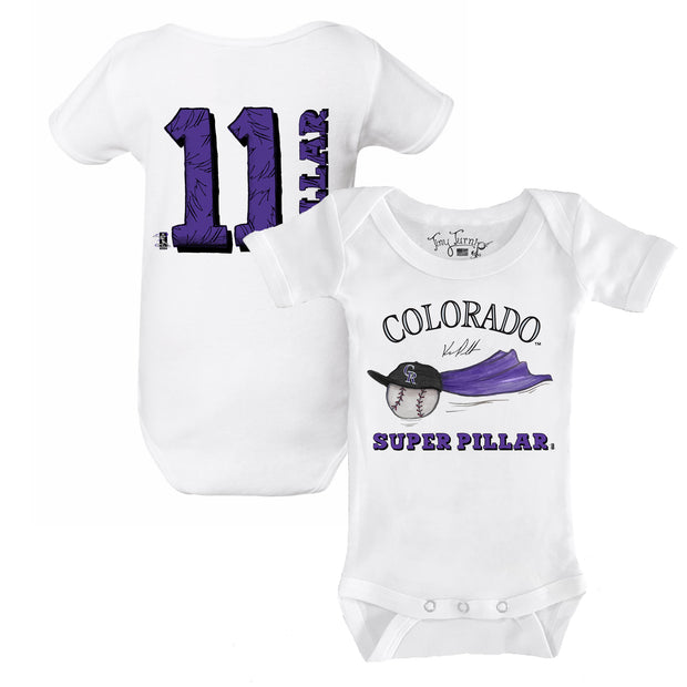 "Colorado Rockies Kevin Pillar ""Super Pillar"" Short Sleeve Snapper"