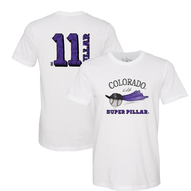 "Colorado Rockies Kevin Pillar ""Super Pillar"" Tee Shirt"