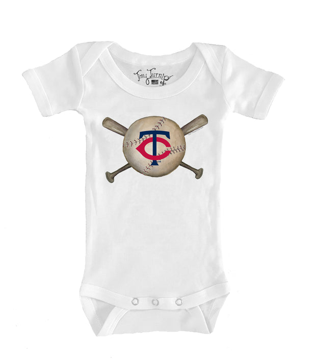 Minnesota Twins Infant Baseball Crossbats Short Sleeve Snapper