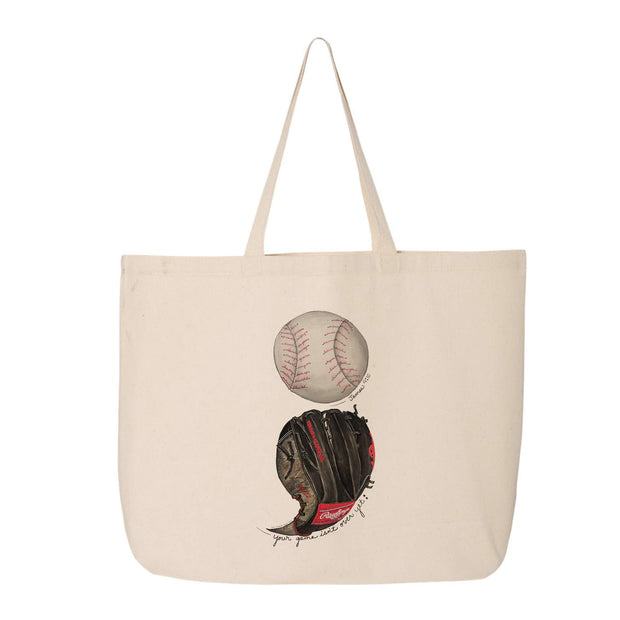"Tiny Turnip ""Your Game Isn't Over Yet ; "" Canvas Tote Bag"