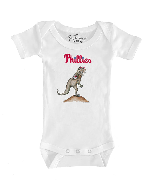 Philadelphia Phillies Infant TT Rex Short Sleeve Snapper