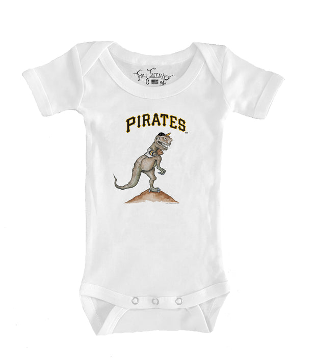 Pittsburgh Pirates Infant TT Rex Short Sleeve Snapper