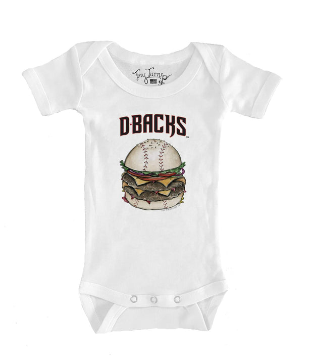 Arizona Diamondbacks Infant Burger Short Sleeve Snapper