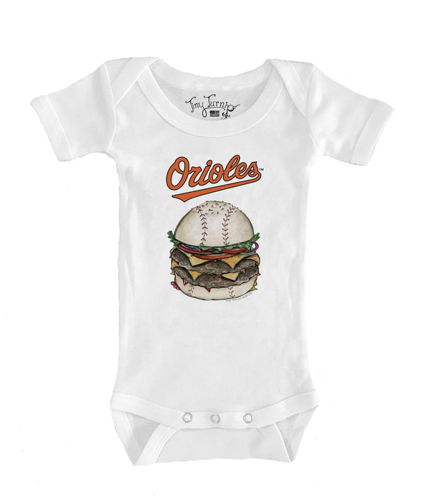 Baltimore Orioles Infant Burger Short Sleeve Snapper