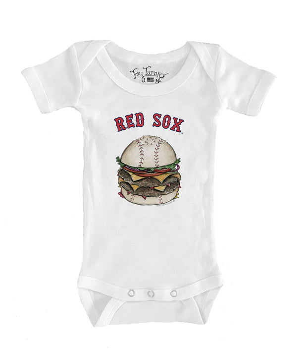 Boston Red Sox Infant Burger Short Sleeve Snapper