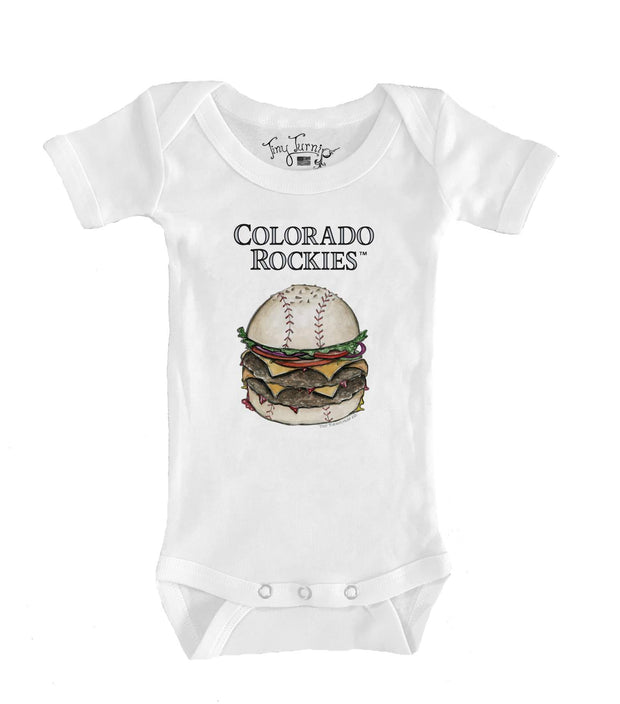 Colorado Rockies Infant Burger Short Sleeve Snapper
