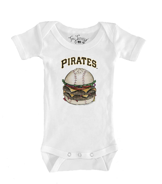 Pittsburgh Pirates Infant Burger Short Sleeve Snapper