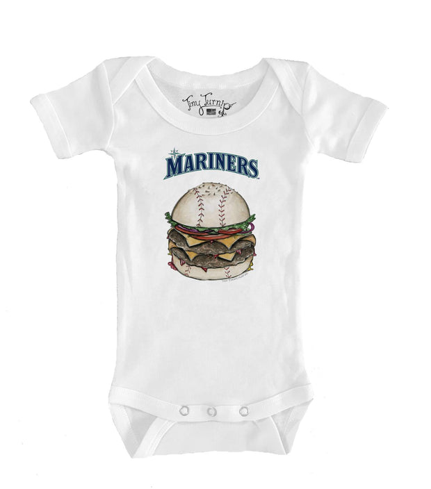 Seattle Mariners Infant Burger Short Sleeve Snapper