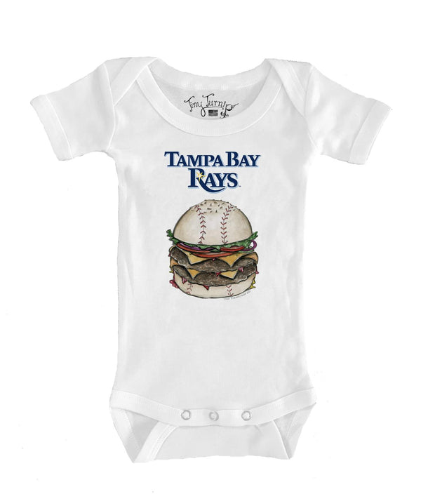 Tampa Bay Rays Infant Burger Short Sleeve Snapper