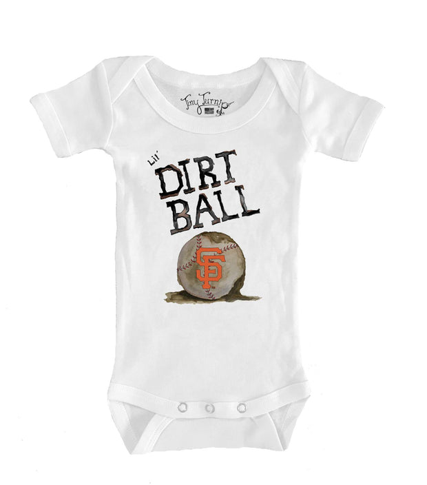 San Francisco Giants Infant Lil' Dirt Ball Short Sleeve Snapper