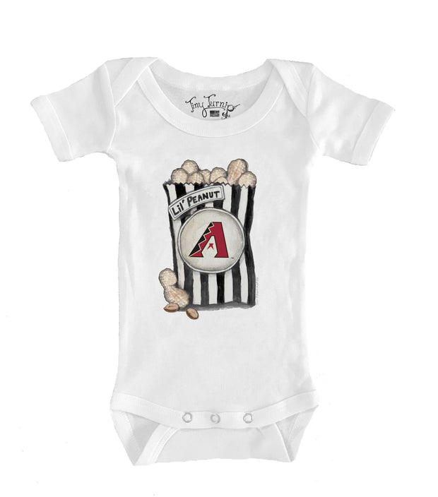 Arizona Diamondbacks Infant Lil' Peanut Short Sleeve Snapper