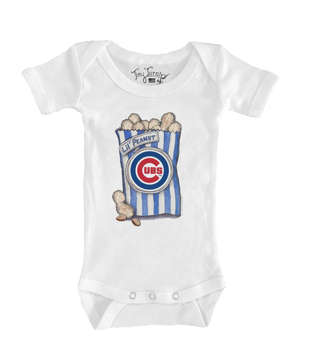 Chicago Cubs Infant Lil' Peanut Short Sleeve Snapper