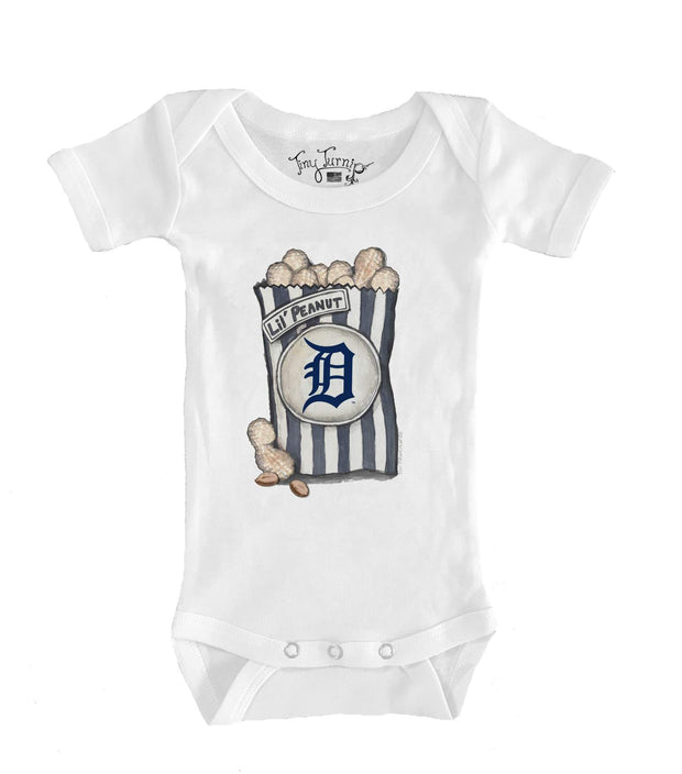 Detroit Tigers Infant Lil' Peanut Short Sleeve Snapper