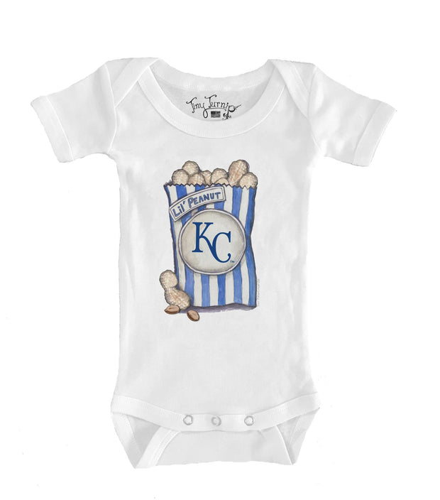 Kansas City Royals Infant Lil' Peanut Short Sleeve Snapper