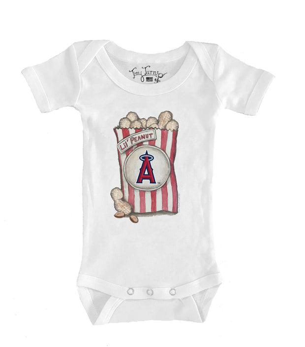 Los Angeles Angels Infant Lil' Peanut Short Sleeve Snapper