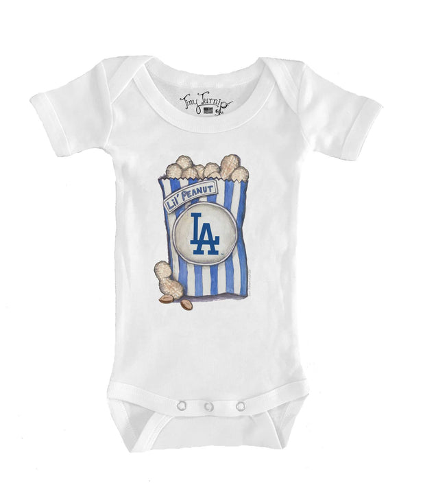 Los Angeles Dodgers Infant Lil' Peanut Short Sleeve Snapper