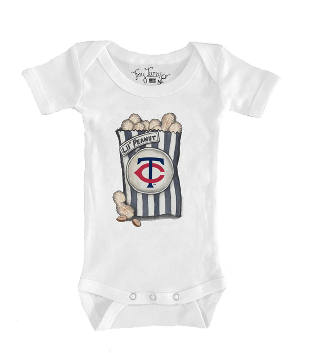 Minnesota Twins Infant Lil' Peanut Short Sleeve Snapper