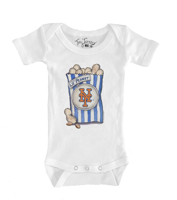 New York Mets Infant Lil' Peanut Short Sleeve Snapper