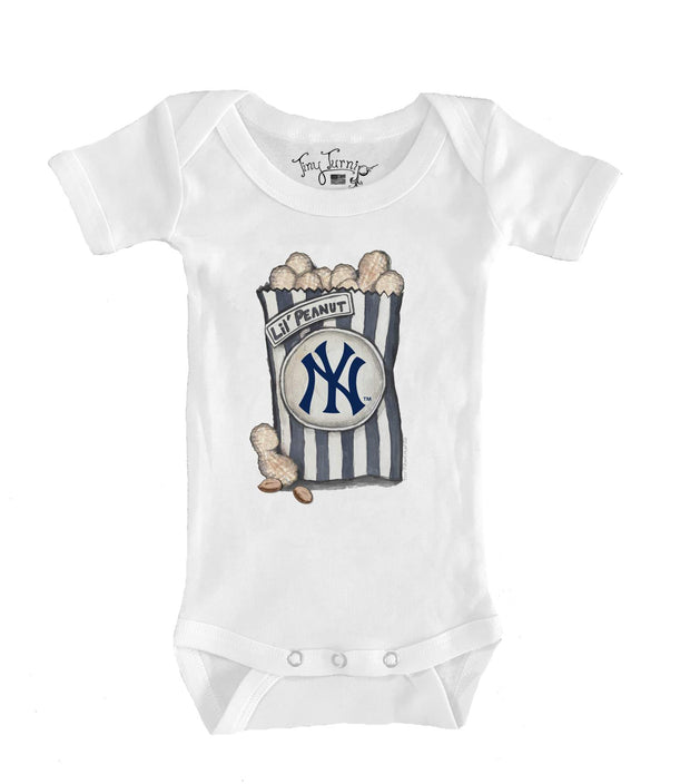 New York Yankees Infant Lil' Peanut Short Sleeve Snapper