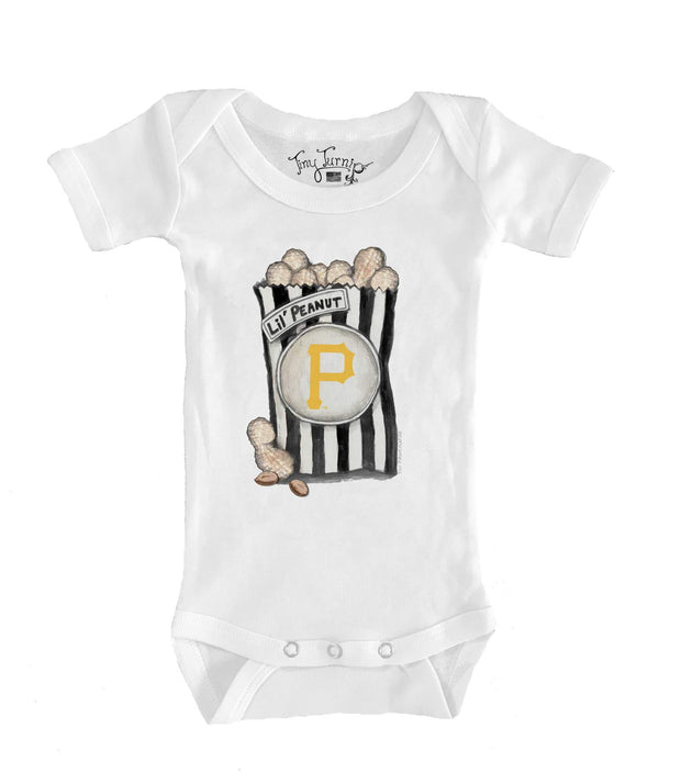 Pittsburgh Pirates Infant Lil' Peanut Short Sleeve Snapper