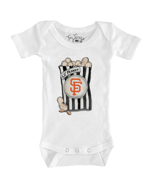 San Francisco Giants Infant Lil' Peanut Short Sleeve Snapper