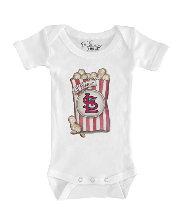 St. Louis Cardinals Infant Lil' Peanut Short Sleeve Snapper